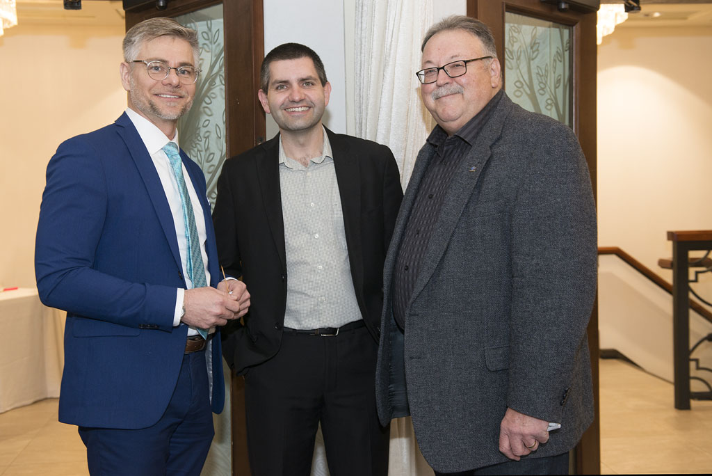 SA2019 Hardy Bromberg (City of Cambridge), Darcy Krahn (RBC), Karl Kiefer (Regional Councillor)